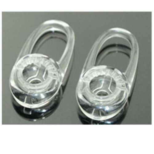 6pcs Medium New Clear Eargels Earbuds for Plantronics M25 M55 M70 M90 M155 M165