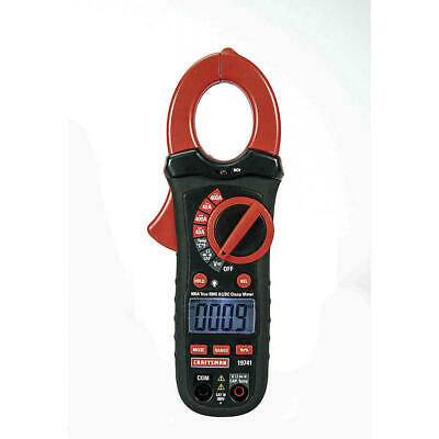 Craftsman 400 Amp Acdc True Rms Clamp Multimeter New