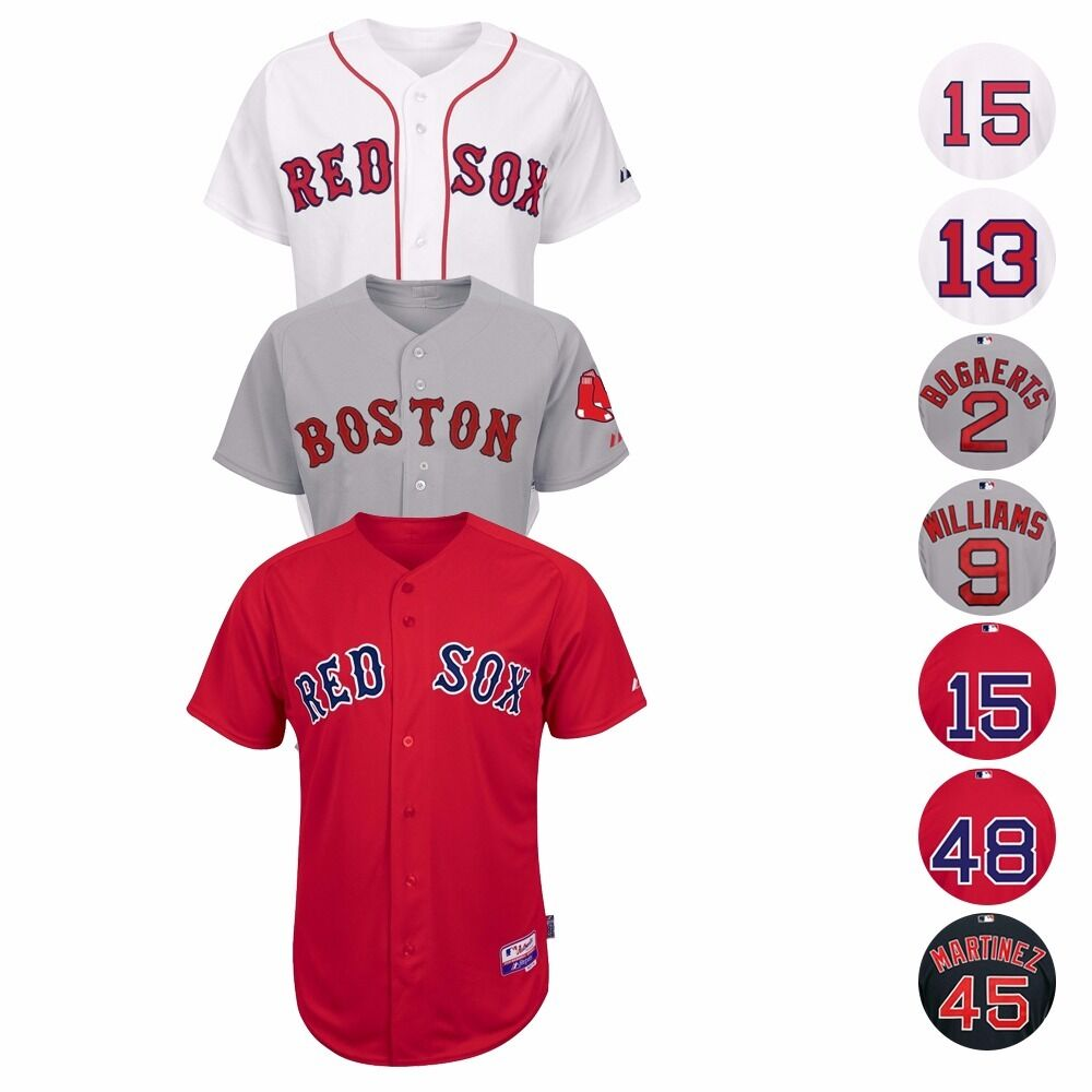 finest selection 4f4e4 9d400 Details about Boston Red Sox Authentic On-Field MAJESTIC Cool Base Jersey  Collection Men's