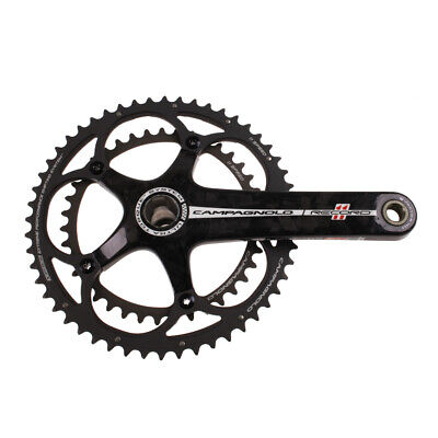 Campagnolo Record Carbon Ultra-Torque 11 Double Standard 39/52 Crankset 175mm Campagnolo Record Ultra Torque Carbon