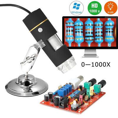 1000x Usb 8-led Digital Microscope Otg Endoscope Magnifying Glass Magnifier S1s4