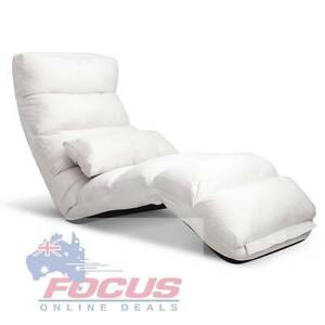 Lounge Sofa Chair - 75 Adjustable Angles Ivory Melbourne CBD Melbourne City Preview