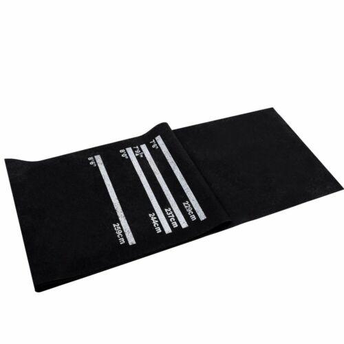 Dartmatte Dartteppich für Steeldart Softdart Teppich Gummi Spielteppich