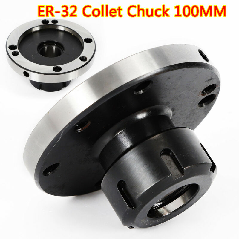 100mm Diameter Er-32 Collet Chuck Compact Lathe Tight Tolerance CNC Collect