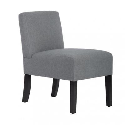 Accent Chair Armless Chair Living Room Sofa Club Side chair Upholstered Fabric
