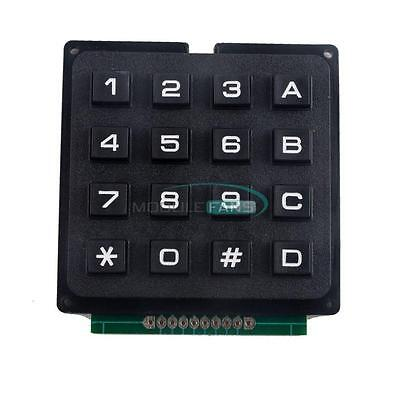 4 X 4 Matrix Array 16 Keys 44 Switch Keypad Keyboard Module For Arduino Mf