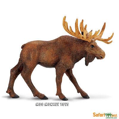 MOOSE  Safari Ltd # 290029  North American Wild Animal  Replica NWT