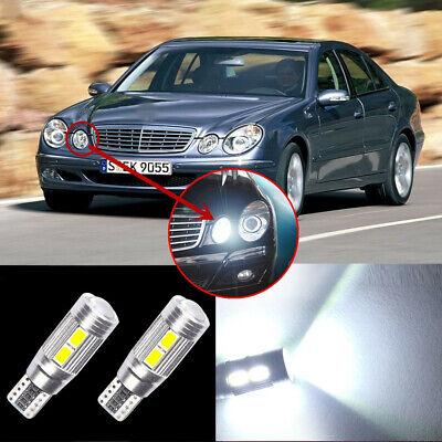 2 Glühbirnen LED -leuchten Position Nachtlichter Mercedes E-Klasse w211 w212