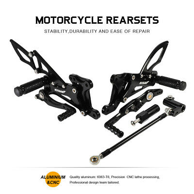 NEVERLAND CNC REARSETS FOOT PEG FOOTREST FOR <em>YAMAHA</em> YZF R1 2007 2008 Y