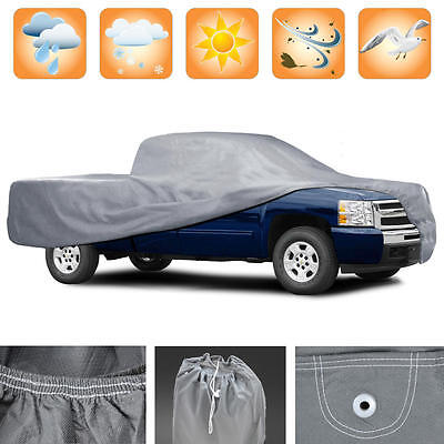 3 Layer Premium Truck Cover Outdoor Tough Waterproof Lining Pickups Size Xl5