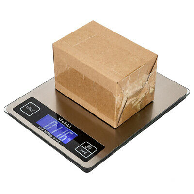 10kg1g Digital Postal Scale Weight Shipping Grams Pound Ounce Kitchen Lcd Kgoz