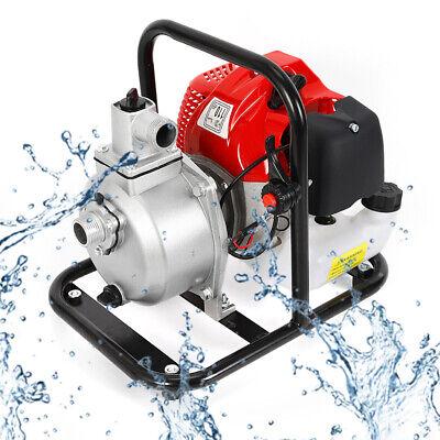 Petrol Water Transfer Removal Pump High Pressure Irrigation 1.7hp 2stroke 110v
