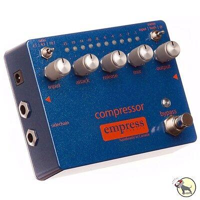 Empress Compressor 3 Compression Ratios True Bypass Guitar/Bass Effects Pedal