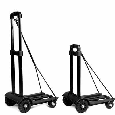 170lbs Heavy Duty Folding Cart Dolly Luggage Platform Push Hand Truck Trolley