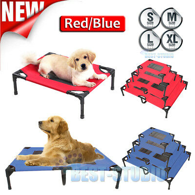 New Heavy Duty Pet Dog Cat Summer Bed Trampoline Hammock Cot Size S M L XL AU