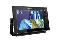 """Fishfinder NSS7evo3, Chartplotter with Insight Charts 10.35"""" x 6.31"""" touchscreen"""
