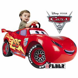 Feber Mcqueen 6v Electric Battery Powered Ride on Car - Licensed ex display