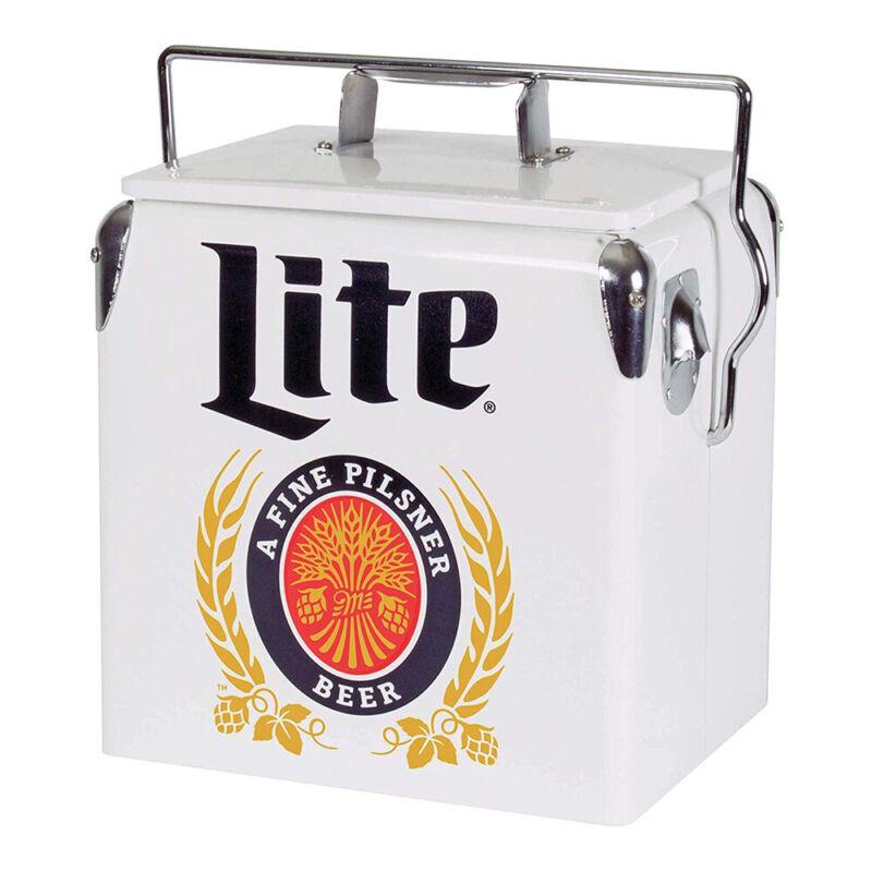 Koolatron MLVIC-13 Official Miller Lite Design 14 Quart 13 Liter Beer Cooler