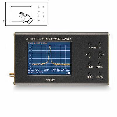 Portable Rf Spectrum Analyzer Arinst Ssa R2 35 Mhz - 6200 Mhz