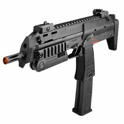 Airsoft Electronic - HK Airsoft MP7 A1 Electronic Full/Semi Auto Marker Mosfet Black 345fps