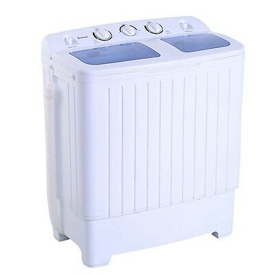غسالة و مجفف ملابس جديد Apartment Washer and Dryer Combo All In One Portable Compact Washing Machine Set