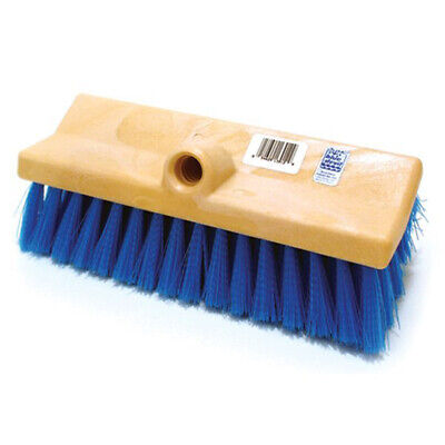 Blue Devil B3012 10 Inch Dual Surface Bi-Level Deck and Acid Cleaning Brush Head 10 Inch Dual Surface Brush