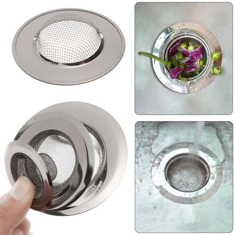 Up Bathtub Stopper Sewer Mesh Trap Waste Catcher Drain Filter Sink Strainer