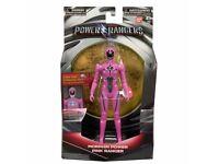 "Power Rangers Movie 7"" Action Figure Morphin Power Pink Ranger Lights Up NEW"