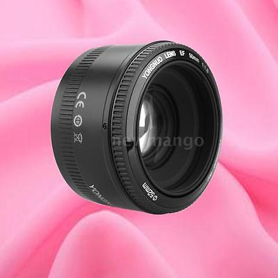 Yongnuo EF 50mm F/1.8 Auto Focus AF/MF Prime Standard Lens for Canon EOS Camera