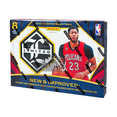 2016 17 Panini Limited Basketball Hobby Box
