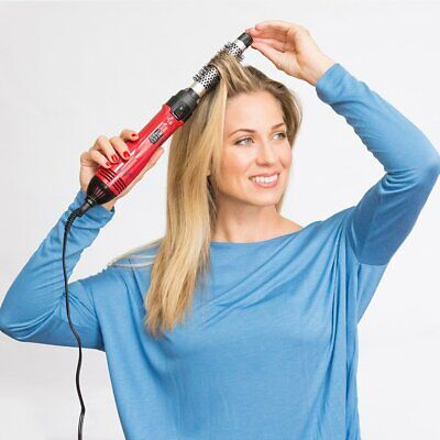 Hair Dryer Kit (Revlon Hot Hair Air Brush Dryer Styler Round Hair Ionic Curling Hair Care Kit )