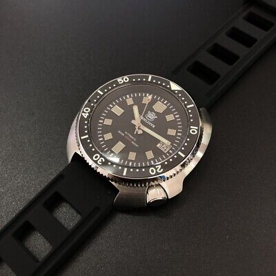 STEELDIVE SD1970 200M Automatic Turtle Diver Watch NH35 Movement