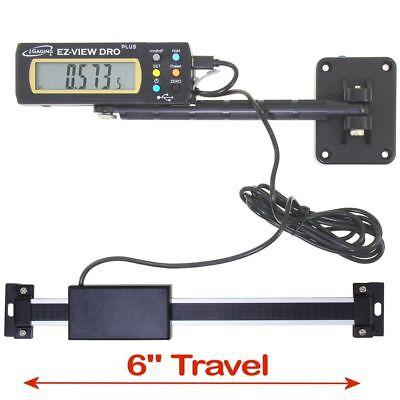 Igaging Digital Readout Ez-view Dro Plus 6 Ac Capable Remote X-lg Lcd Display