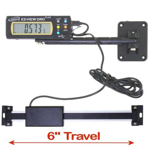"iGaging Digital Readout EZ-VIEW DRO PLUS 6"" AC Capable Remote X-LG LCD Display"