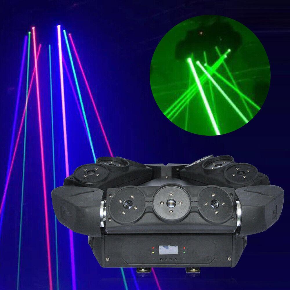 9 Eyes RGB Moving Head Beam Laser Light DMX Stage Spider Projector DJ Bar KTV - $481.00
