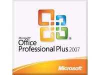 MICROSOFT OFFICE 2007 PRO PC