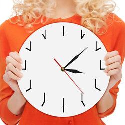 Simple Needle Wall Clock Redundant Time Clock Acrylic Watch Modern Round Clock