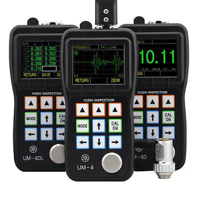 Um-4 Ultrasonic Thickness Gauge Meter Snapshot A-scan 0.025-20.00 Ut Testing