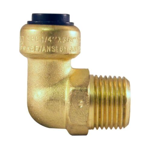Tectite 1/4 in. Push-To-Connect x 3/8 in. Male Pipe Thread 90-Degree Elbow