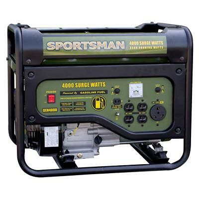 Sportsman 4000-watt 7-hp Portable Rv Ready Gas Generator Home Camping Tailgating