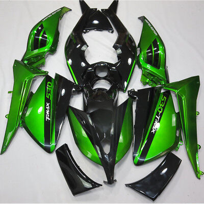 Fairing Kit For Yamaha TMAX 530 2012-2014 13 Green Black ABS Injection Body Work