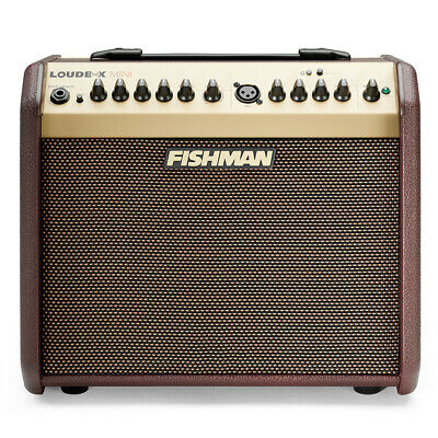 Fishman Loudbox Mini Bluetooth Acoustic Guitar Combo Amplifier, 60w, XLR Input