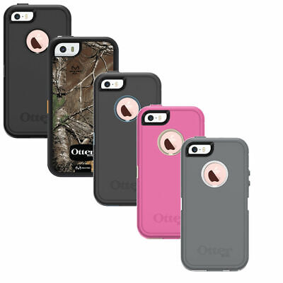 New! OtterBox Defender For Apple iPhone iPhone 5, iPhone 5S & iPhone SE -No Clip