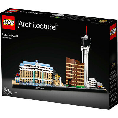 Lego Architecture Skyline Collection Las Vegas Building Set - 21047