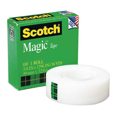Scotch 810 Office Tapetransparent34 In X 36 Yd.