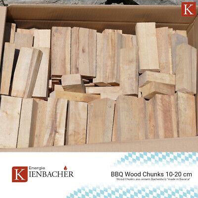 20KG BBQ Buche Wood Chunks Smoker Holz Räucherholz grillen smoken räuchern