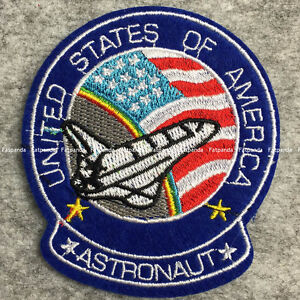 usa nasa astronaut space stars ironsew on embroidered