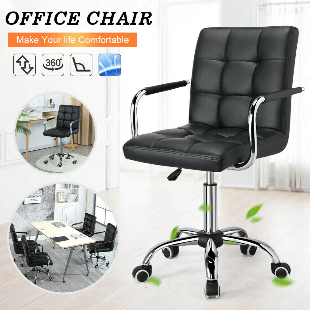 Ergonomic Modern Adjustable Office Task Computer Desk Chair