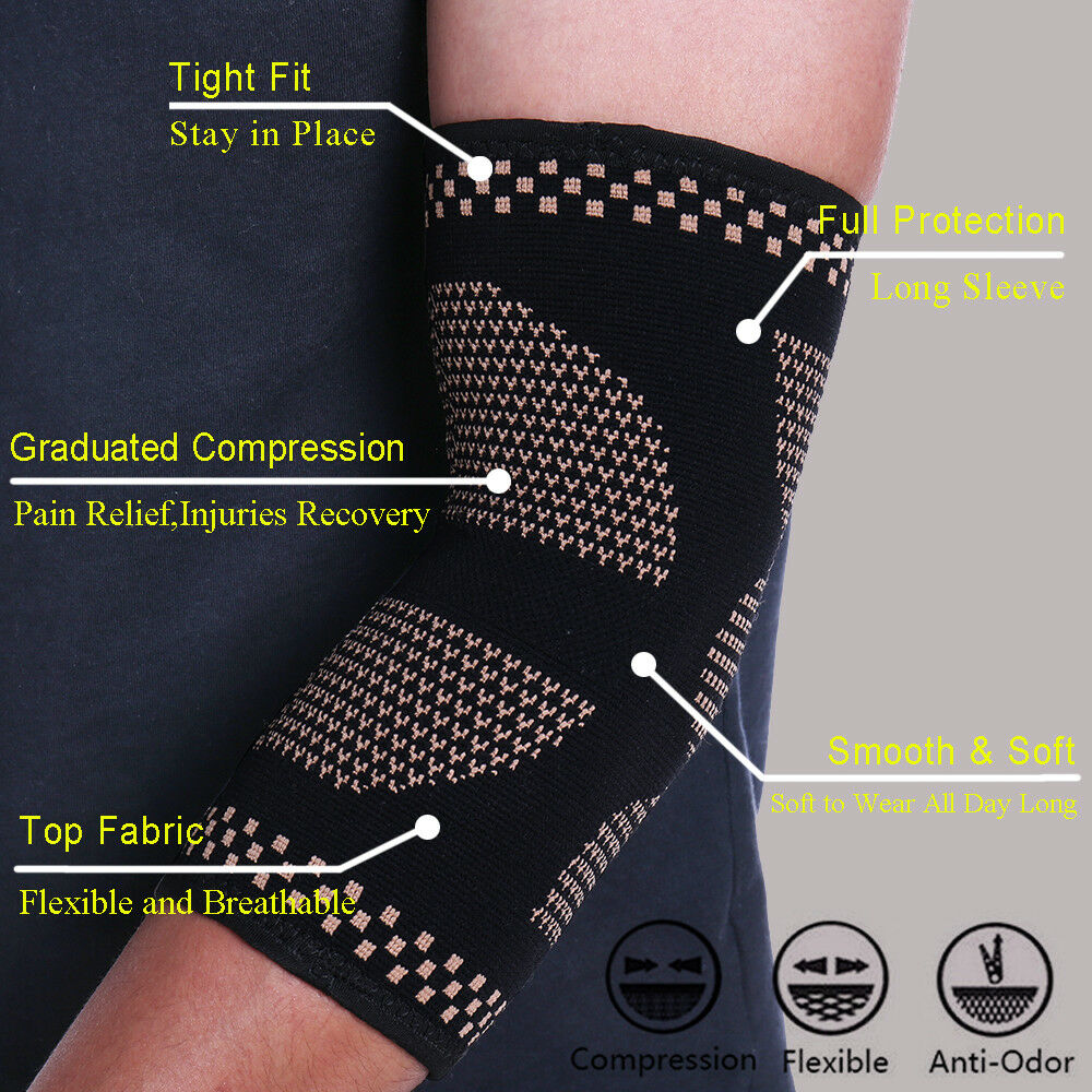 Elbow Brace Arm Infused Joint Relief Gym