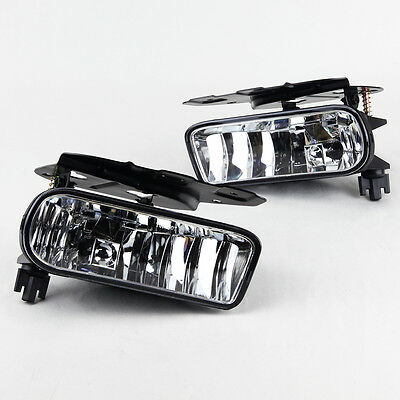 Stealth 2002 2003 2004 2005 2006 Cadillac Escalade Fog Lights - Clear
